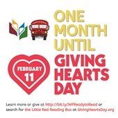 One month until Giving Hearts Day