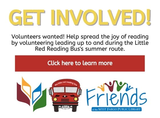 Get involved! Volunteers wanted. Click here to learn more.