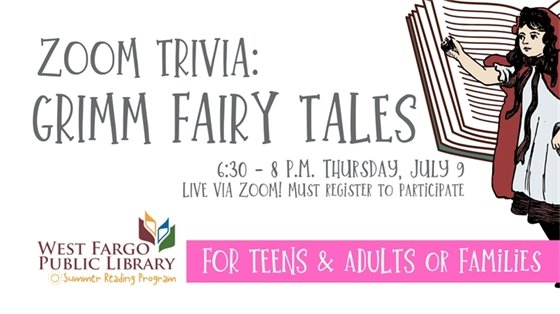 Zoom Trivia: Grimm Fairy Tales