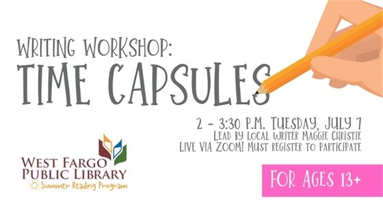 Writing Workshop Time Capsules