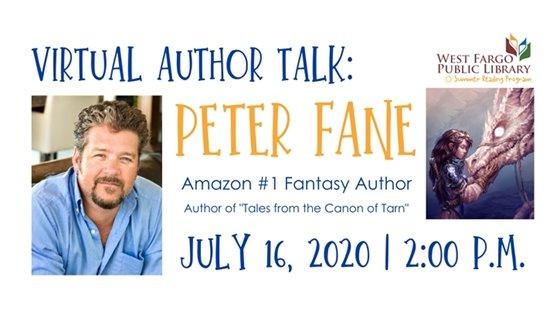 Virtual Author Talk: Peter Fane