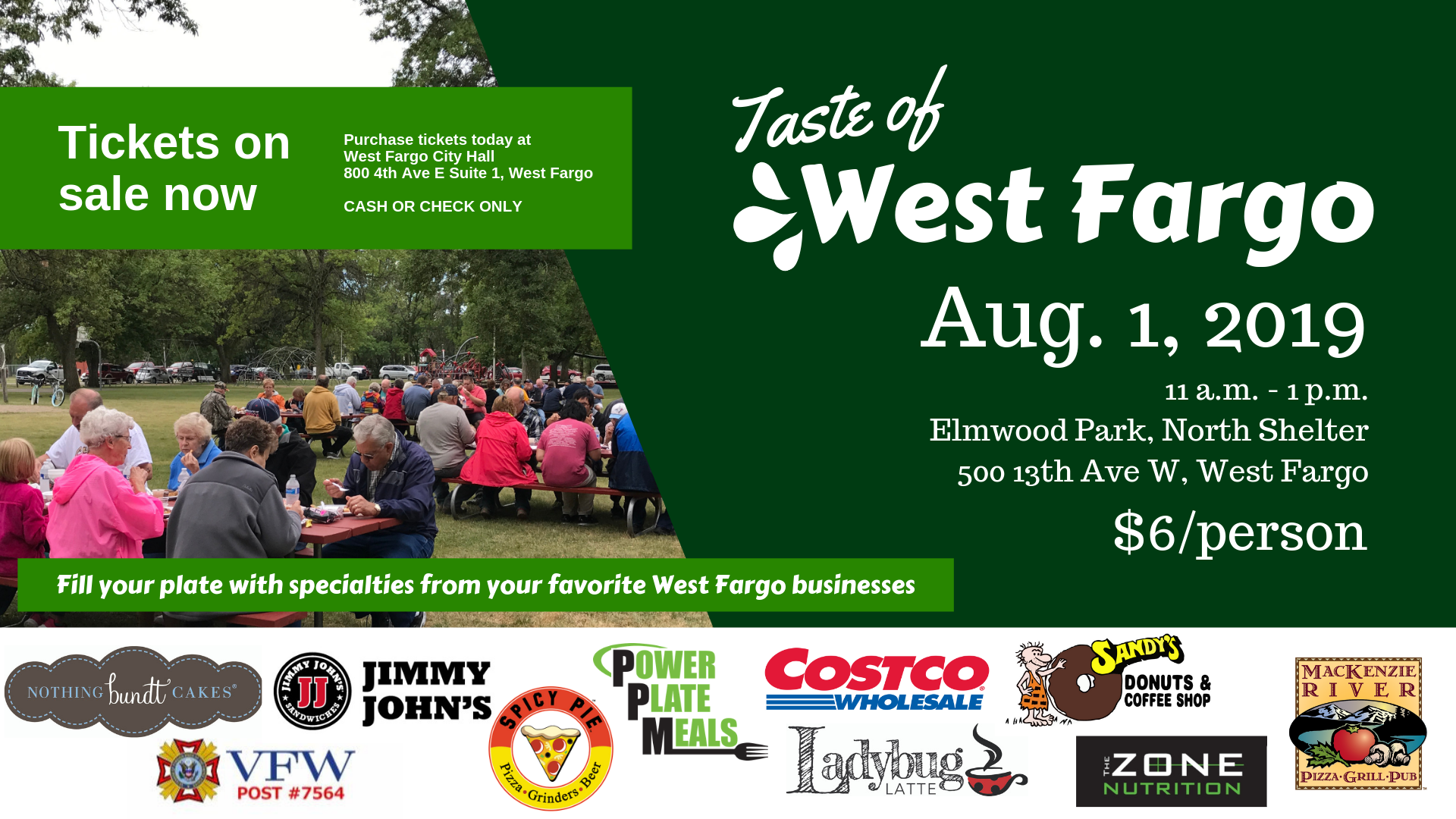 Taste of West Fargo promotional image