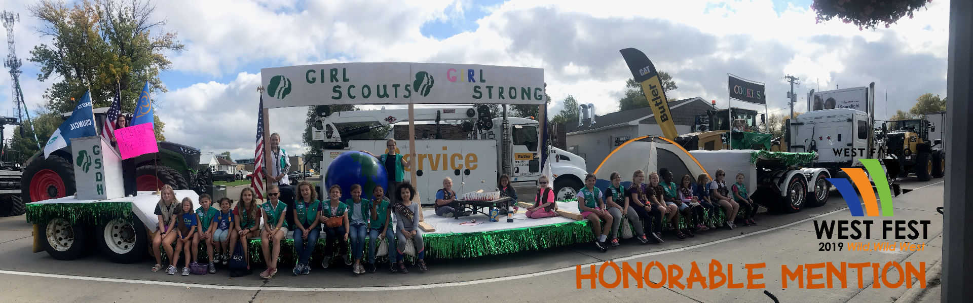 Girl Scouts - honorable mention
