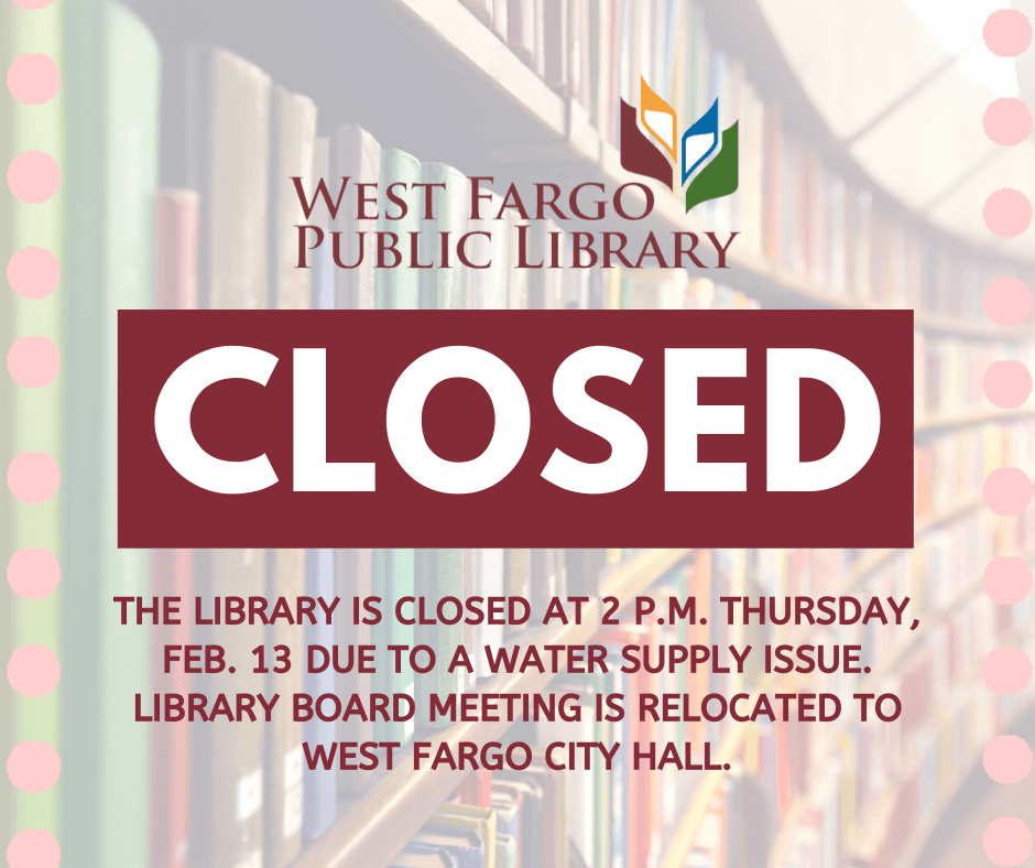 Library Closure Water Supply