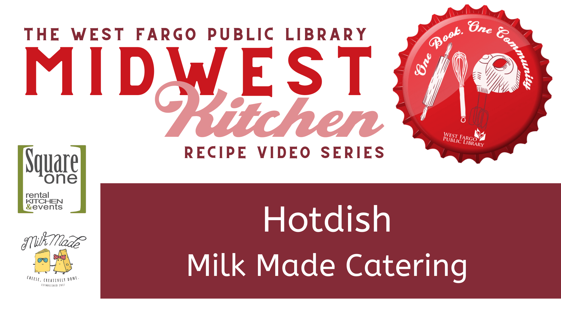 Hotdish Milk Made Catering Midwest Kitchen Graphic