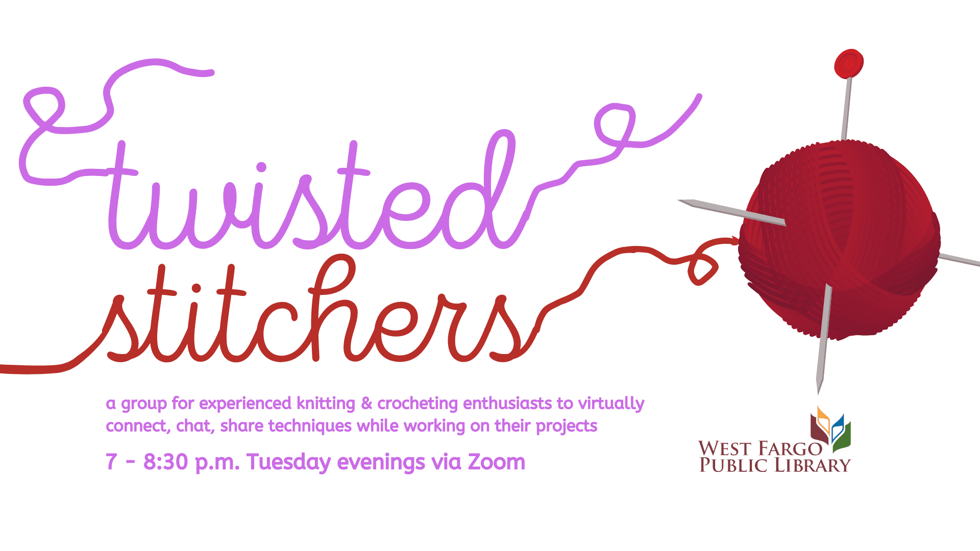 Twisted Stitchers Virtual Meetings