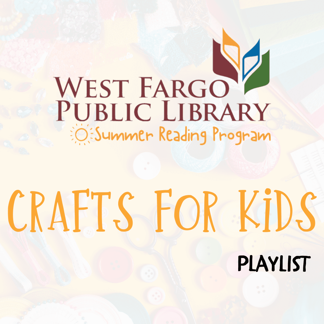 Summer Reading Program Crafts for Kids Video Playlist Button