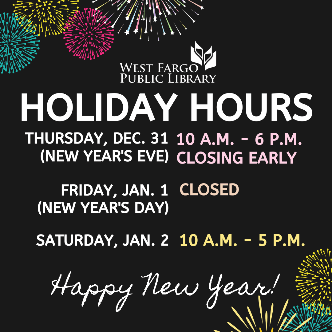New Years Closures Graphics